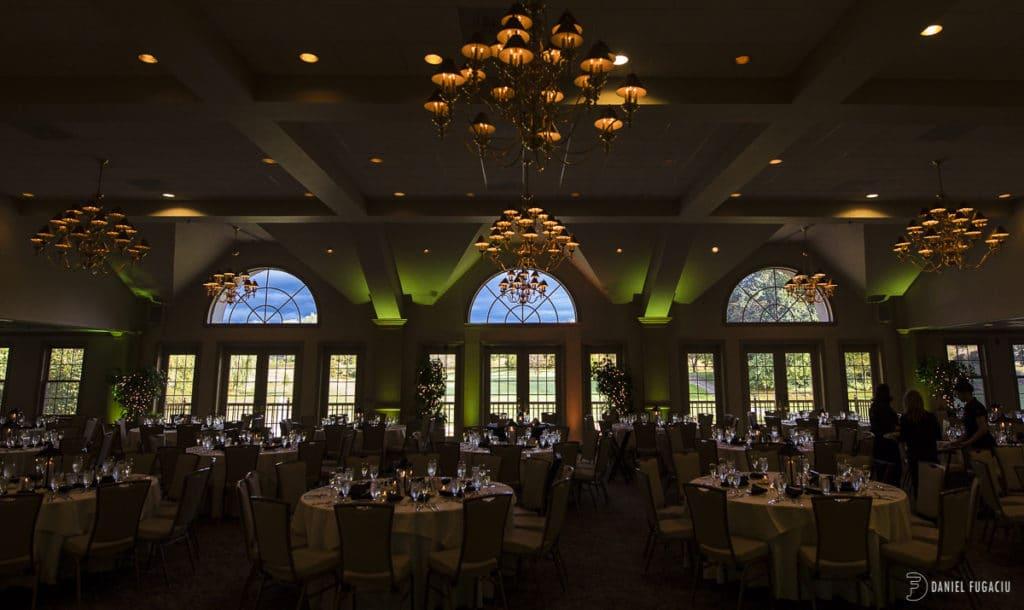 Chester Valley Golf Club wedding ballroom