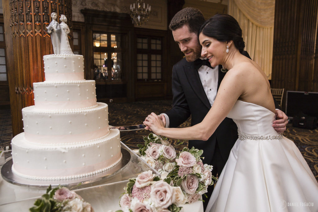 cake cutting bride groom