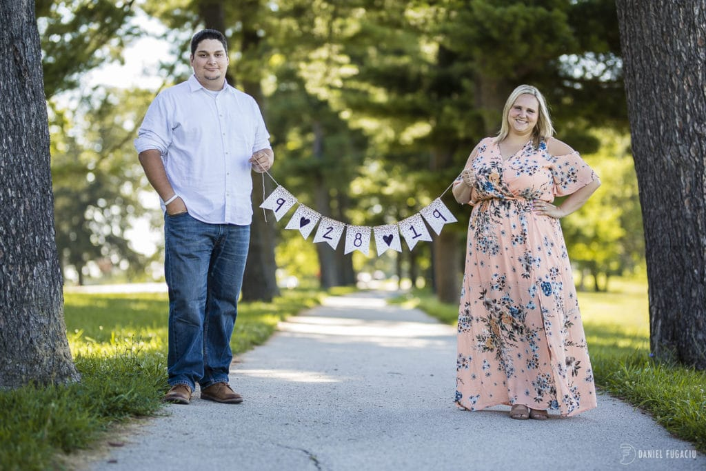 Shannon and Corey's engagement at Valley Forge National Historical Park