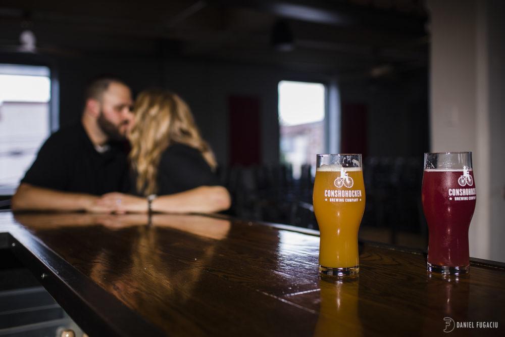 Alyssa, David and Kent do Bridgeport Brew Pub