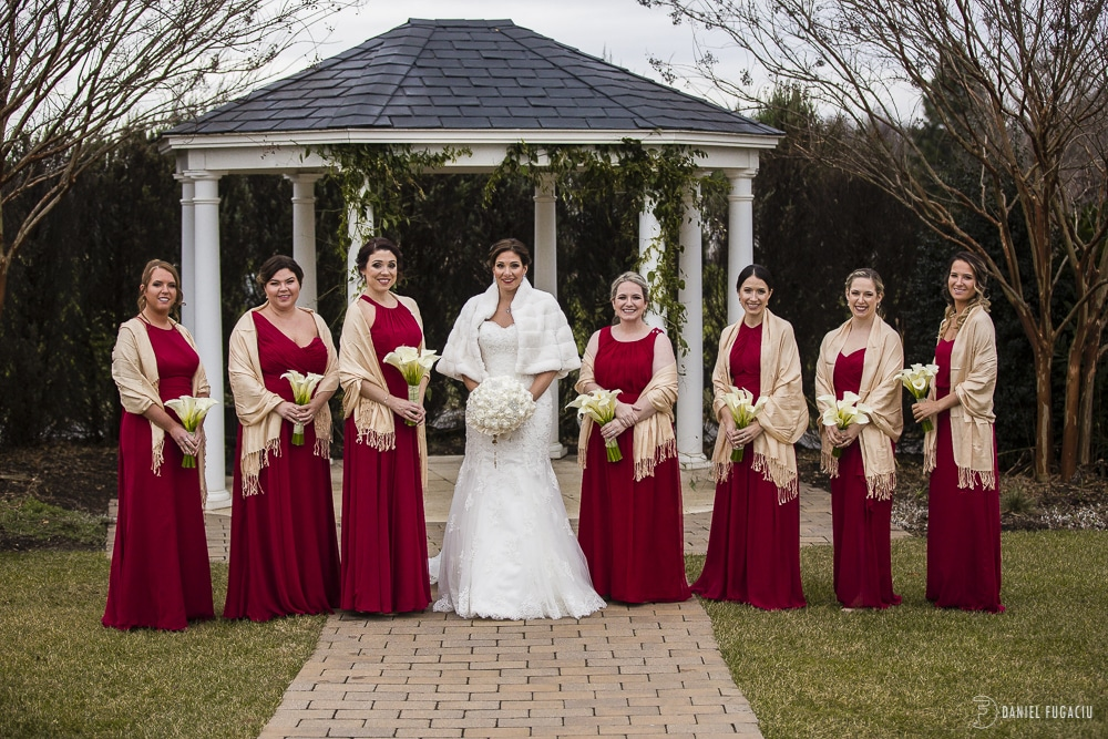 Bridesmaids at Penn Oaks