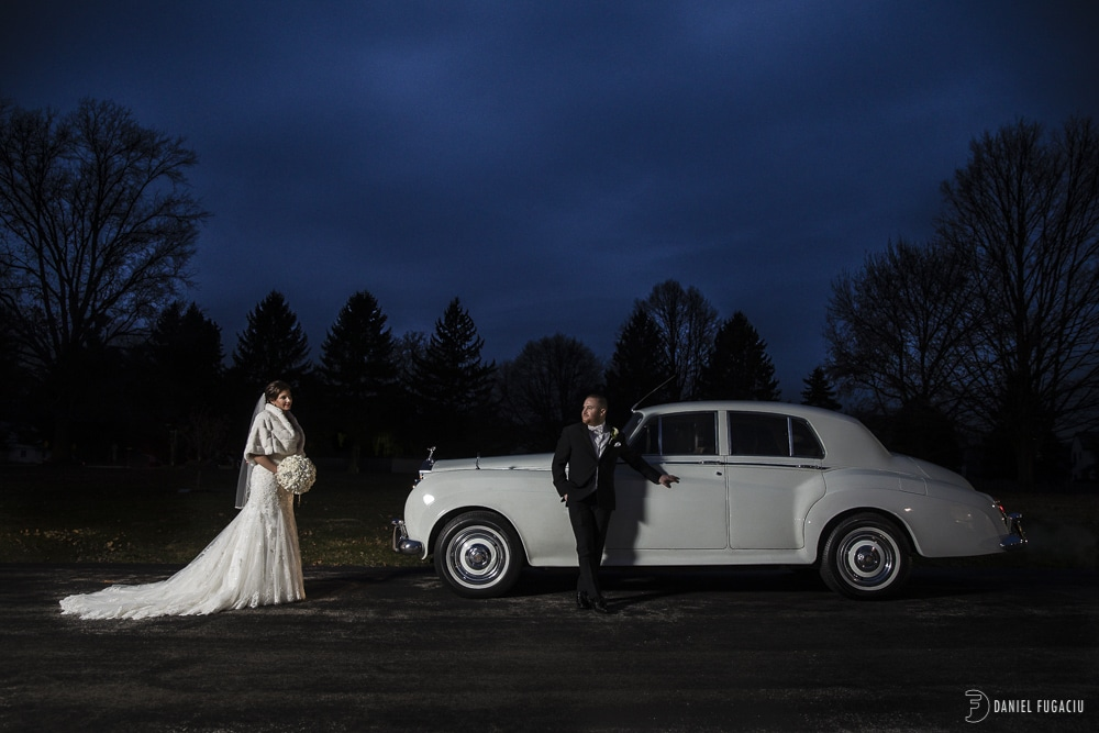 Rolls Royce bride groom