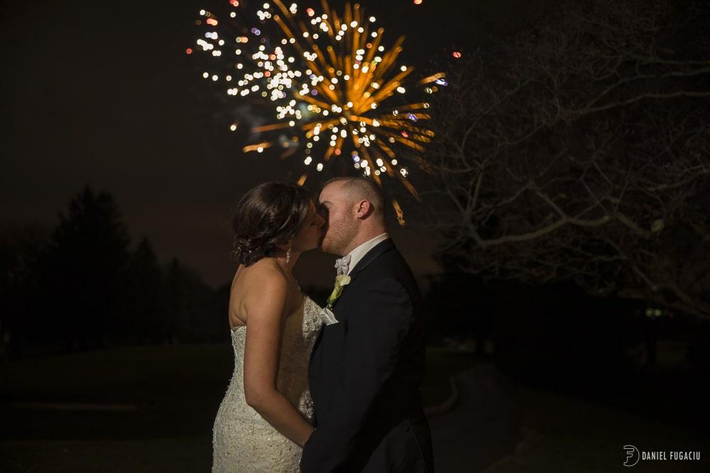fireworks kiss