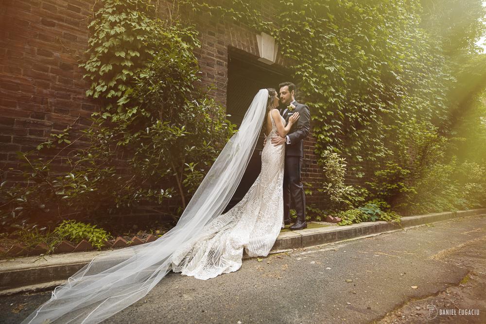Van Pelt Street bride groom