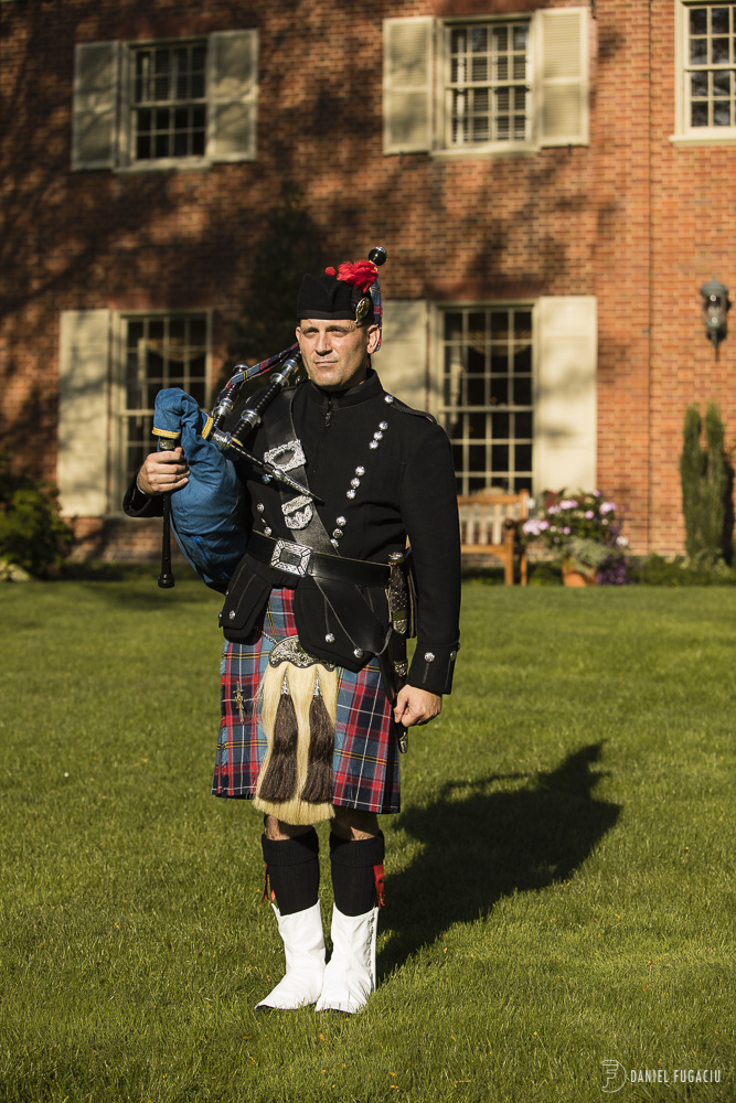 Scottish bag pipe