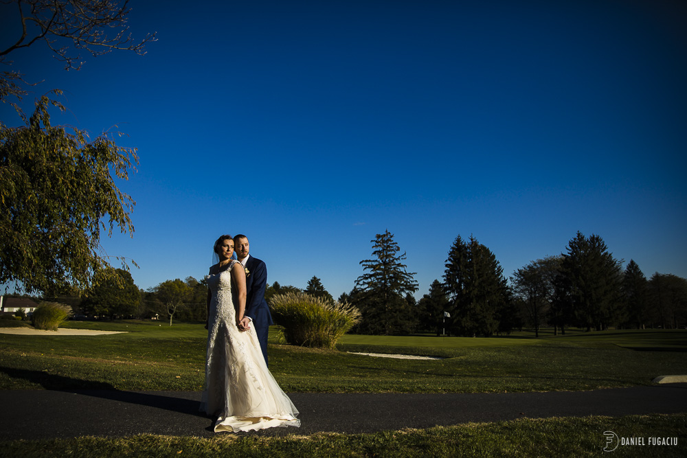West chester fall wedding