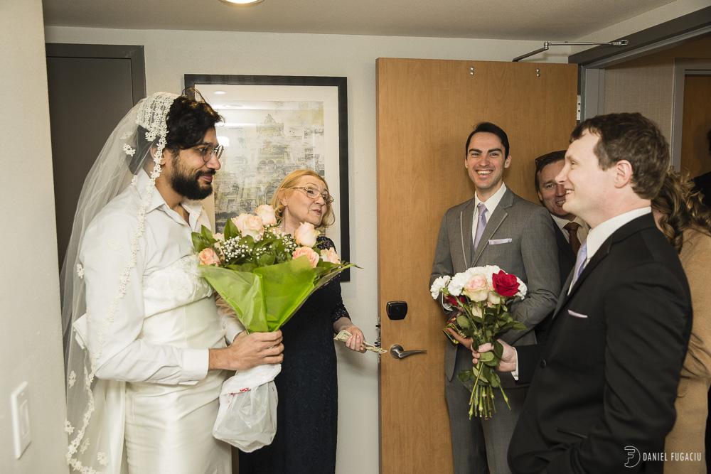 the fake bride