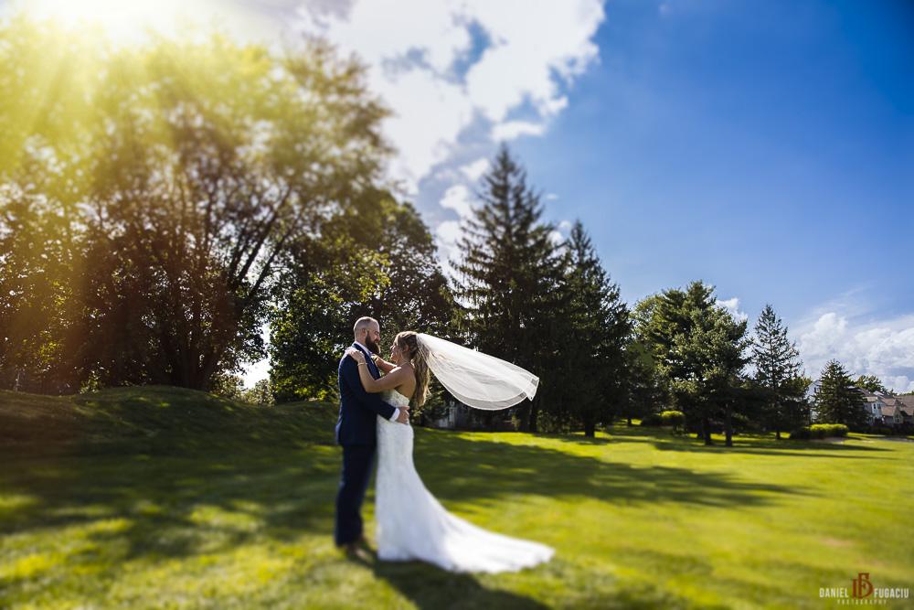 wedding at Penn Oaks Golf Club